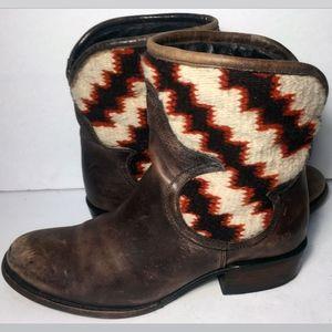 FREEBIRD Cablo Blanket Brown Boots Size 8